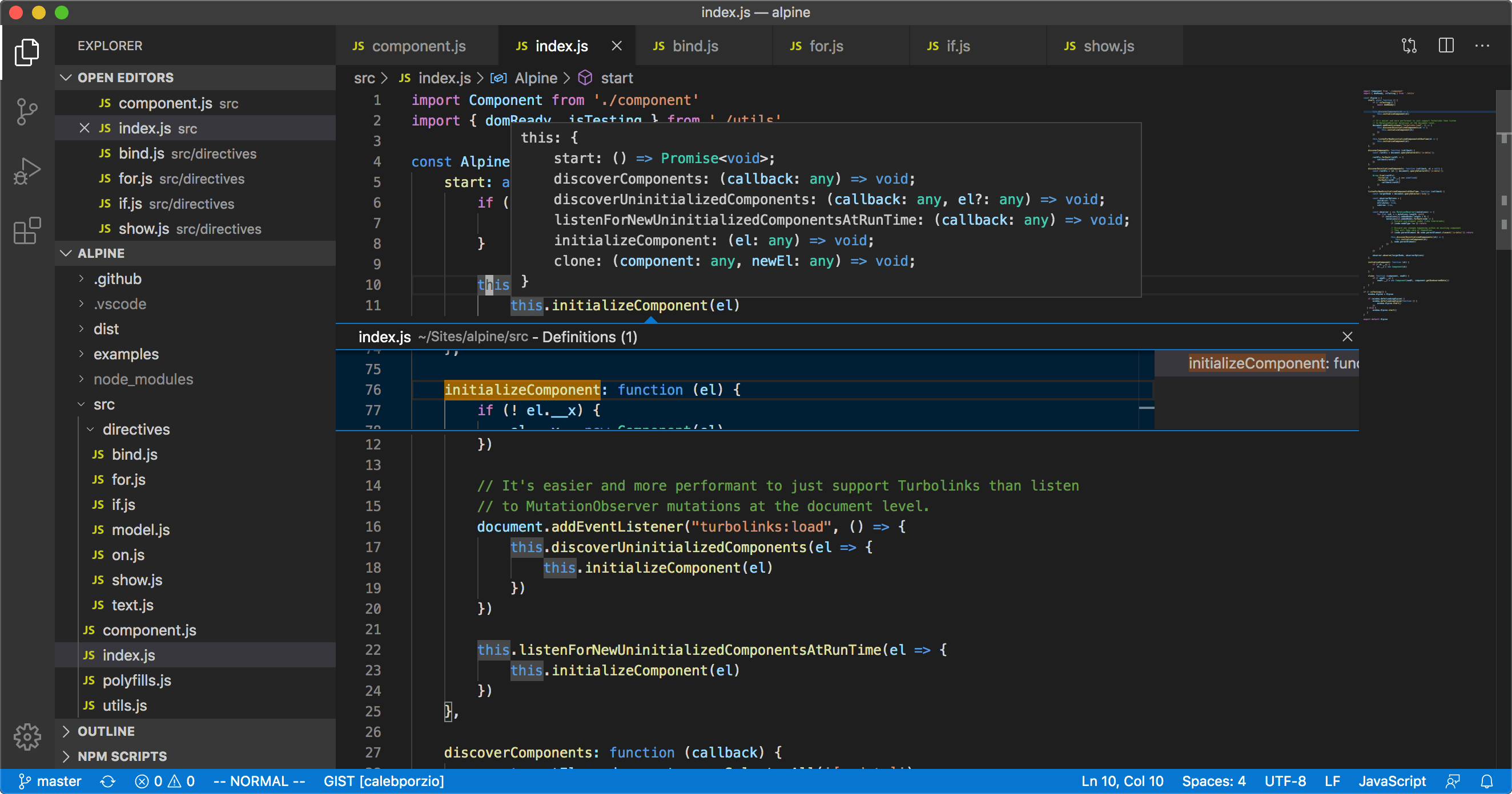 VS Code after a clean install (ugly and noisy)
